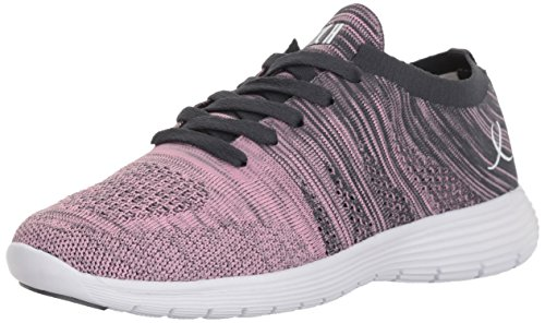 Bloch Women's Omnia Sneaker, Pink/Grey, 8 Medium US