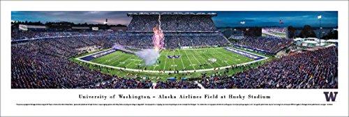 Blakeway Worldwide Panoramas, Inc. Washington Football, Husky Stadium - 40x13.5-inch Panoramic Poster