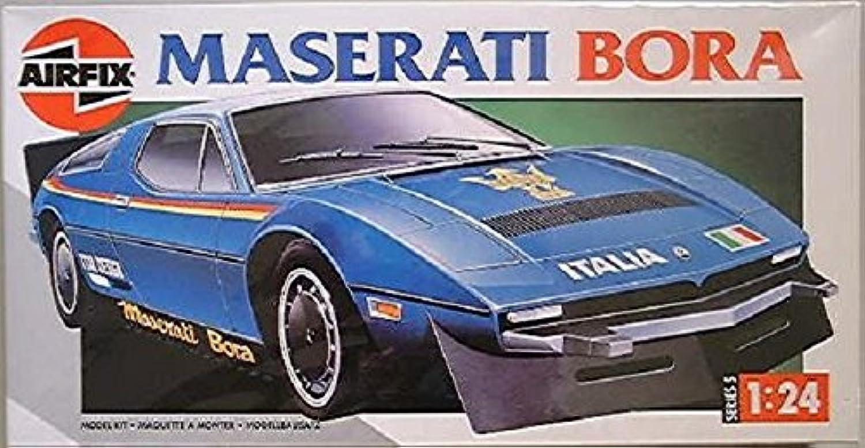 Airfix Maserati Bora Series 5 Rare modello Plastic Kit 1 24 05402