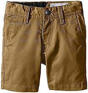 ボルコム Volcom Kids キッズ 男の子 ショーツ 半ズボン Khaki Frickin Chino Shorts (Toddler Little Kids 4T [並行輸入品]