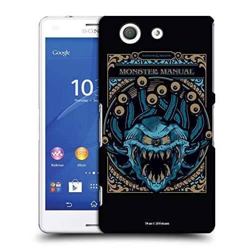 Head Case Designs Offizielle Dungeons & Dragons Monster Handbuch Hydro74 Kunstwerk Harte Rueckseiten Huelle kompatibel mit Sony Xperia Z3 Compact / D5803