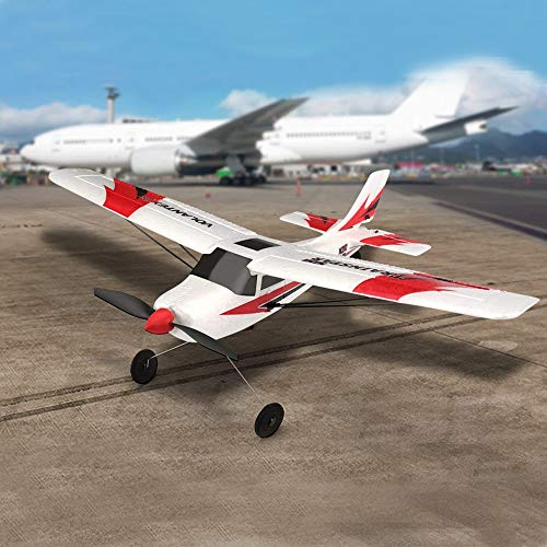 FUNTECH RC Airplane Remote Control Airplane 3 Channel with 2.4ghz Radio Control 6 Axis Gyro, Durable Epp Foam Easy to Fly for Beginners,Great Little Plane for Your First RC Plane