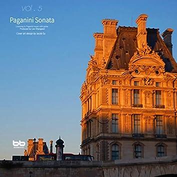 Paganini Guitar Sonata for Prenatal, Vol. 5 (Relaxing Music,Classical Lullaby,Prenatal Care,Prenatal Music,Pregnant Woman,Baby Sleep Music,Pregnancy Music)
