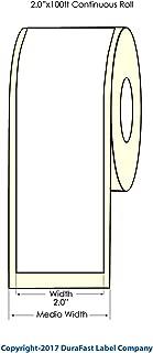 DuraFast Inkjet Matte Roll-Fed Paper Labels - 2