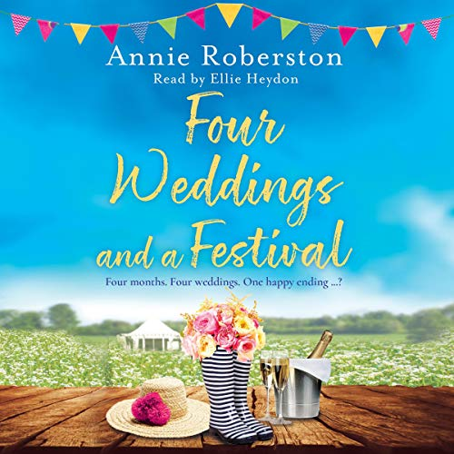 Four Weddings and a Festival cover art