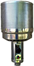 "Hiland 2 1/2"" Pole THP-Burner-2.5 Part, Tall(Complete Burner), One Size, Grey"