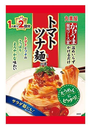 丸美屋食品工業 かけうま麺用ソース トマトツナ麺の素 160g ×8箱