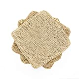 Hihihome Placemats for Dining Table – Premium Quality Handmade Woven Seagrass Place Mats for Kitchen &...