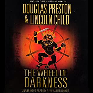 The Wheel of Darkness audiobook cover art