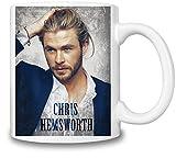 Chris Hemsworth Portrait Tasse