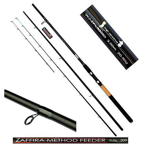 Jaxon Feederrute Zaffira Angelrute Steckrute 3 + 2- teilig 3,00m WG 20-50g