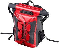 Semptec Urban Survival Technology Fahrradtasche: Wasserdichter Trekking-Rucksack aus LKW-Plane, 20 Liter, IPX6 (Rucksack wasserfest)