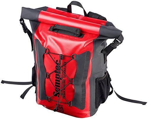 Semptec Urban Survival Technology Wasserfester Rucksack: Wasserdichter Trekking-Rucksack aus LKW-Plane, 20 Liter, IPX6 (Outdoor Rucksack)