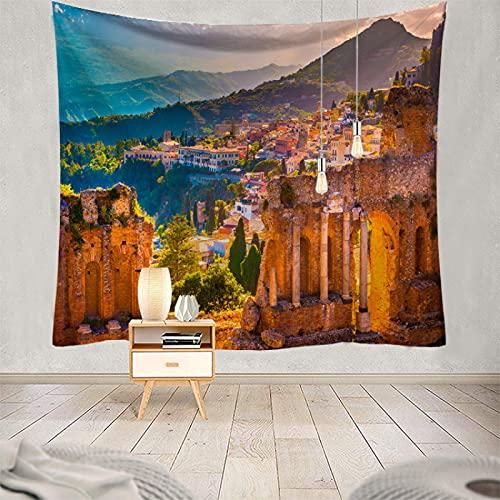 NHhuai Tapiz para Colgar en la Pared, decoración del hogar Toalla de Playa de Pared Serie Impresa