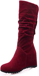 BalaMasa Womens ABS13899 Pu Boots