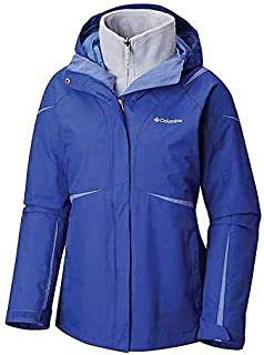 Columbia Women's Blazing Star Plus Size Interchange Jacket, Dynasty, eve, 1X