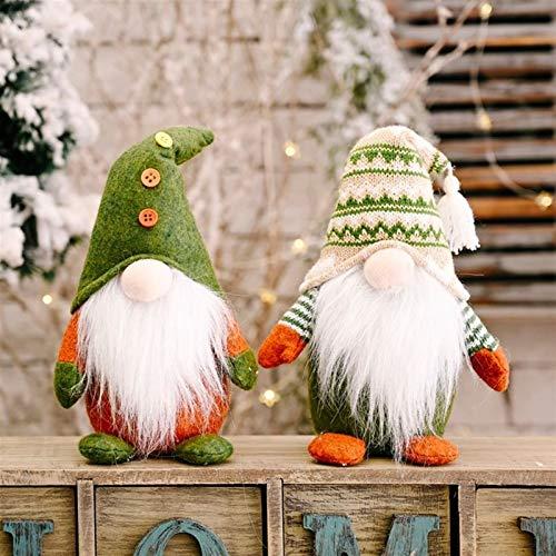 Lbymyb. Gnome Plüschpuppe Wolle Niedliche Ornamente Handgemachte Elfen Spielzeug Weihnachten Home Party Dekor Geschenk Schwedische Gnome Tomte Spielzeugpuppen Ornamente Für Home Tisch Küche Valentinst