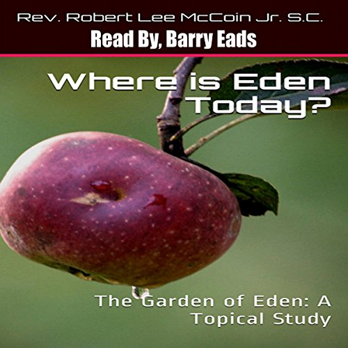 Where Is Eden Today? audiobook cover art