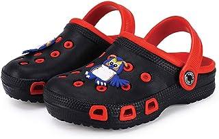 Vorgelen Sabots et Mules Enfants Été Sandales de Plage à Enfiler Chaussures Mixte Enfant Bébé Fille Garçon Antidérapant Pi...