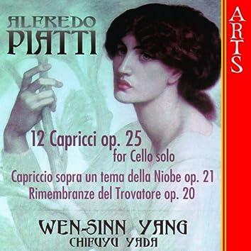 Piatti: 12 Capricci Op. 25 for Cello solo