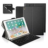 feelkaeu Custodia iPad Pro 10.5'con tastiera Bluetooth, custodia protettiva iPad con tastiera...