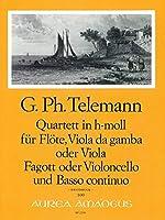 TELEMANN - Cuarteto en Si menor (TWV:43/h3) (Partitura/Partes)