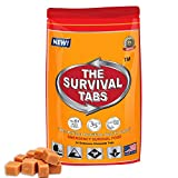Food For Battering 2-day Food Supply 24 Tabs Emergency Food Ration for Travel Camping Biking Hunting...