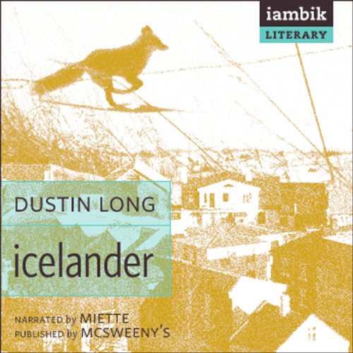 Icelander audiobook cover art