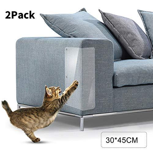 Decdeal 2 stuks krasbescherming meubels mat kat krasbescherming sticker zelfklevend plastic krasbescherming voor bank matras