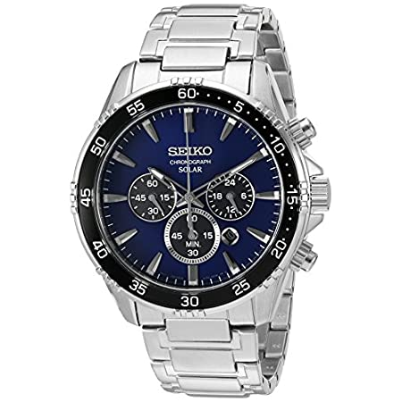 Fashion Shopping Seiko Men's 'Chronograph' Quartz Stainless Steel Dress Watch (Model: SSC445)
