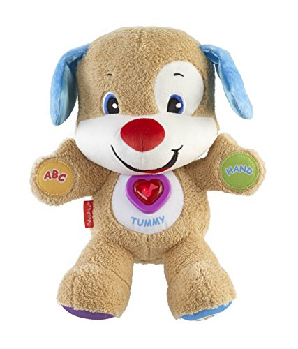 Fisher-Price - Laugh & Learn - Smart Stages Puppy - Peluche Interactive Version Anglaise