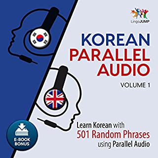 Korean Parallel Audio: Volume 1 cover art