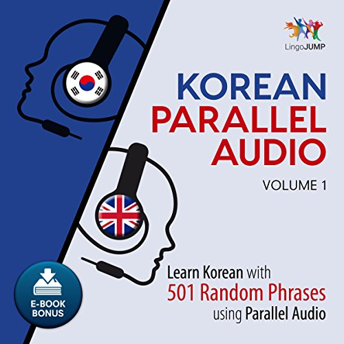 Korean Parallel Audio: Volume 1 audiobook cover art