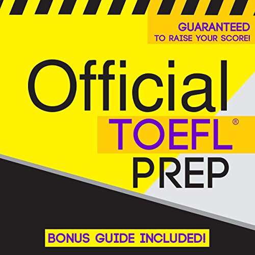 Official TOEFL Prep audiobook cover art