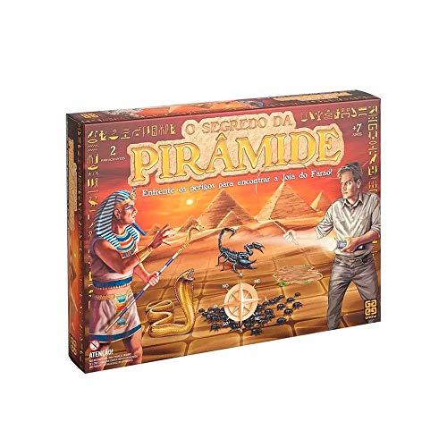 Grow - O Segredo da Pirâmide Jogo de Tabuleiro para 2+ Jogadores, 7+ Anos, Multicolorido, 3711