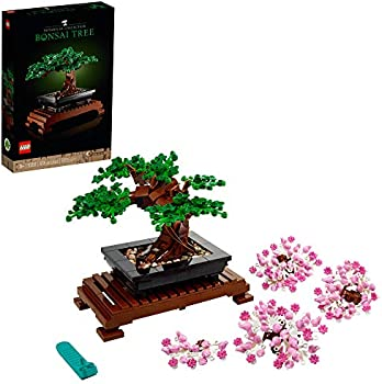 878-Pieces LEGO Bonsai Tree 10281 Building Kit