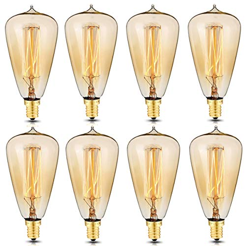 e12 Base Incandescent Light Bulb - 9