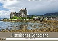 Historisches Schottland (Wandkalender 2022 DIN A2 quer): Eine Reise in die schottische Vergangenheit mit wunderschoenen Fotografien von Castles und Cathedrals (Monatskalender, 14 Seiten )