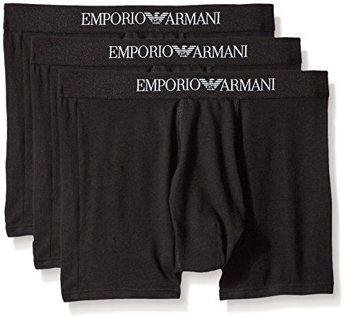 Emporio Armani Men's Cotton Boxer Briefs,...