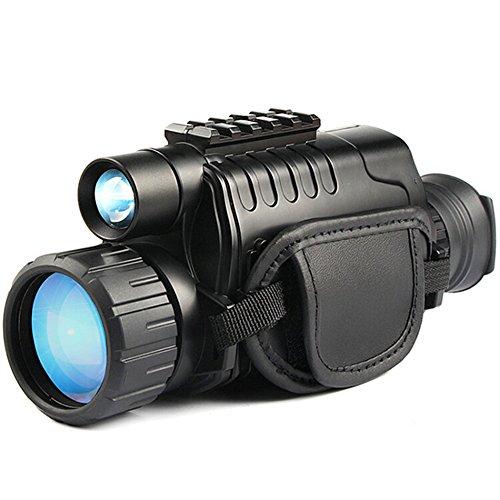 WSHA Nachtsicht Monocular Infrarot HD Digital Scope 5X40mm Für Jagd Teleskop Video Aufzeichnung Kamera Teleskop Oder Beobachten Vogel, Fußballspiel