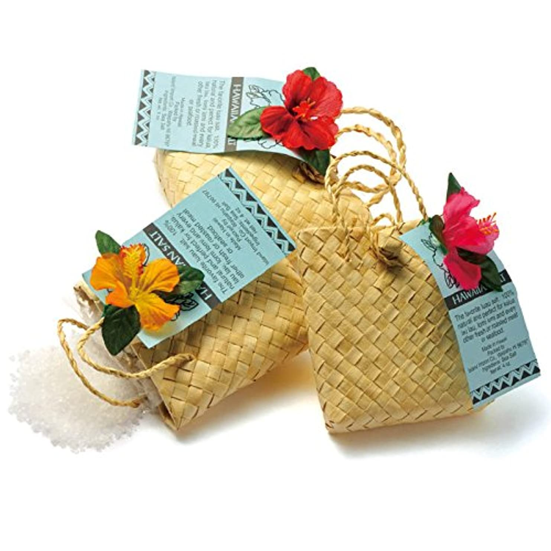 お別れ雰囲気グラフハワイ 土産 ハワイ ソルトバッグ入り 3袋セット (海外旅行 ハワイ お土産)