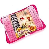 MovilCom® Bolsa de Agua Caliente Eléctrica   Recargable en sólo 15 minutos   Calentamanos   Dolor muscular, espalda, menstrual 600Watt (Mod.03)