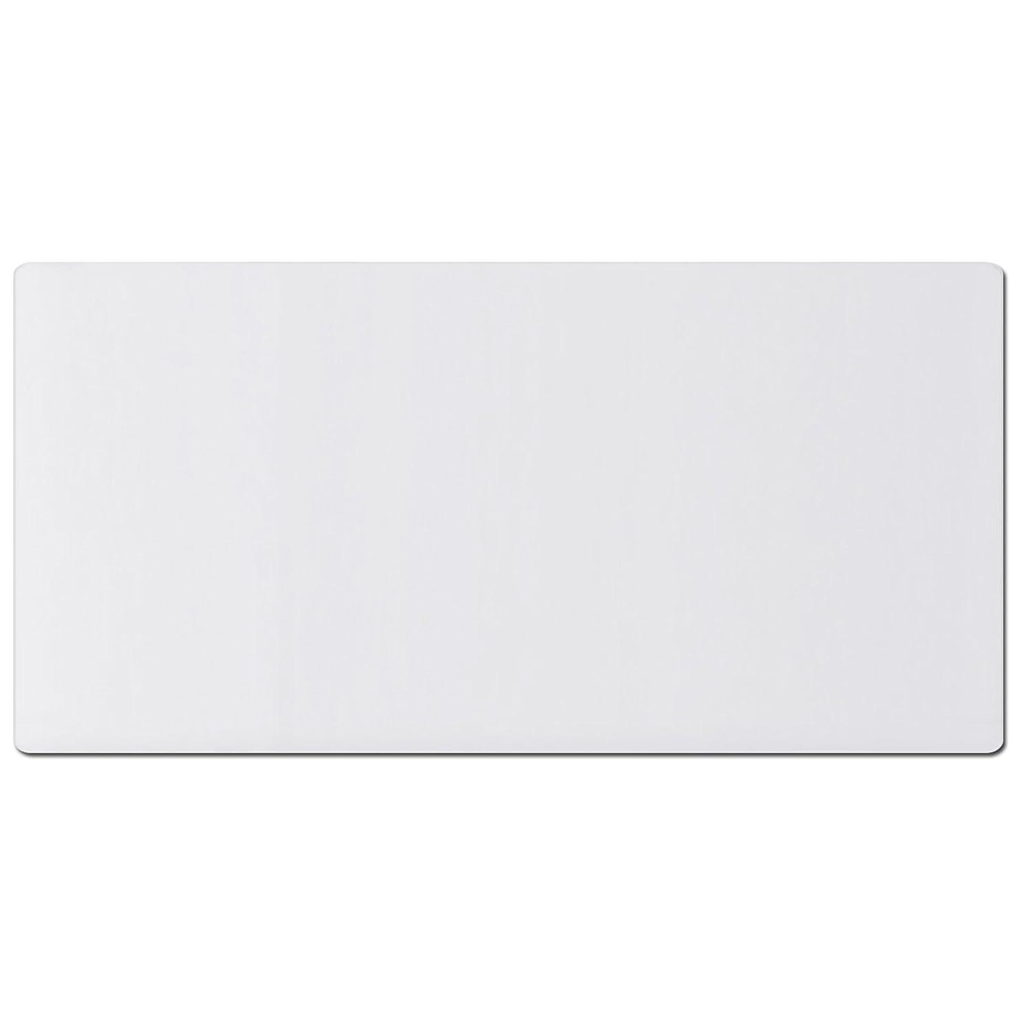 追放等々批判的ottostyle.jp デスクマット 120×60cm クリア 透明 厚さ1.5mm 反射しにくいエンボス加工