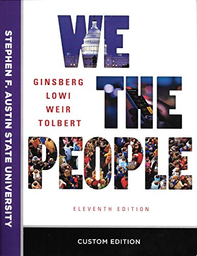 Price comparison product image We The People,  An Introduction to American Politics,  Eleventh Edition
