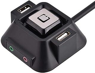 Diyeeni Fuentes de alimentación de la Caja de la computadora de Escritorio, botón de Encendido del botón de Encendido de l...