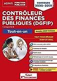 Concours Contrôleur des Finances publiques (DGFIP) Catégorie B - Tout-en-un -Concours 2020-2021