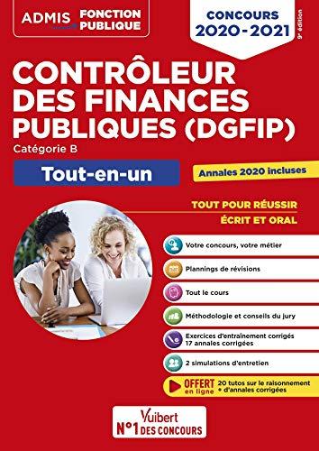 Concours Contrôleur des Finances publiques (DGFIP) - Catégorie B - Tout-en-un