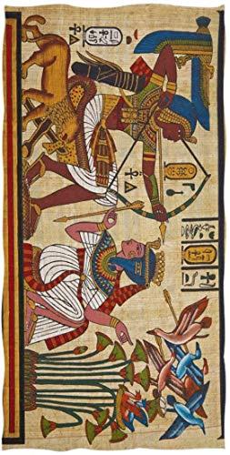 Ägypter Ägypten Retro Papyrus und Hieroglyphe Handtuch Waschlappen Baby Kleinkind Kinder Jungen Mädchen Frauen Mann