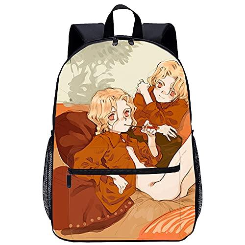 3D Escolar Mochila con mochila para niño Pequeña bruja románica Adecuado para: estudiantes de primaria y secundaria, la mejor opción para viajes al aire libre Tamaño: 45x30x15 cm   17 pulgadas Moch