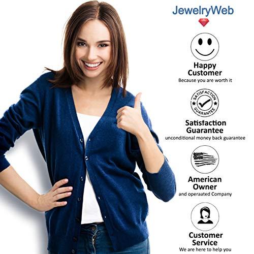 JewelryWeb QTR402838SS